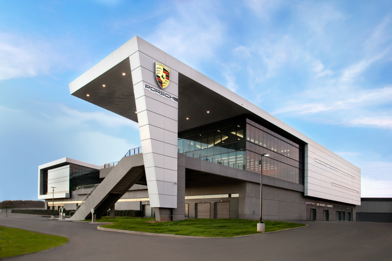 Space by HOK & cars by Porsche, the new $100 million Experience Center opens in Atlanta - slide 3