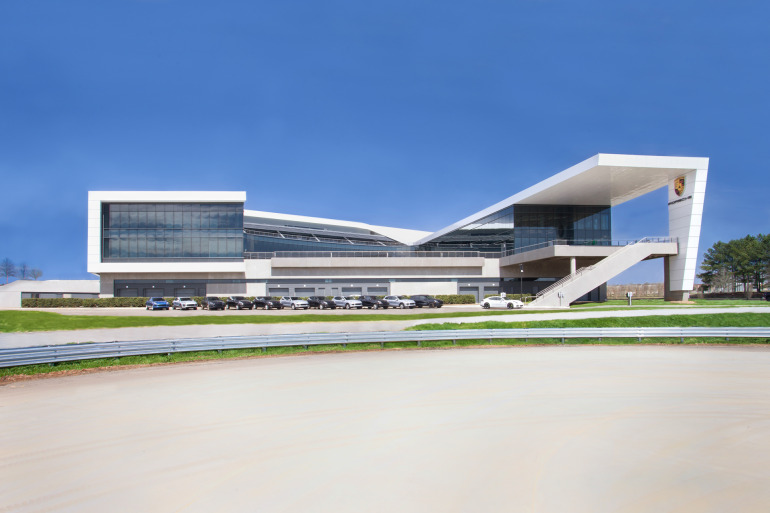 Space by HOK & cars by Porsche, the new $100 million Experience Center opens in Atlanta - slide 5