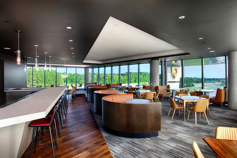 Space by HOK & cars by Porsche, the new $100 million Experience Center opens in Atlanta - slide 6