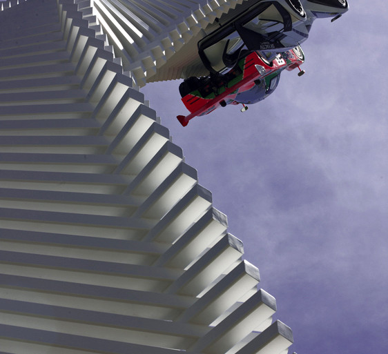 Gerry Judah's Mazda tower twists & rises over Goodwood's 2015 Festival of Speed - slide 4