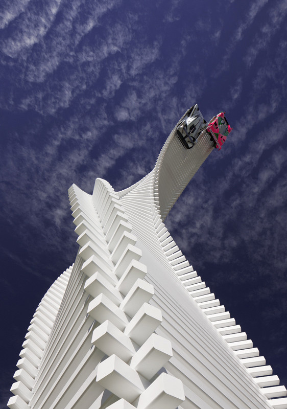 Gerry Judah's Mazda tower twists & rises over Goodwood's 2015 Festival of Speed - slide 5