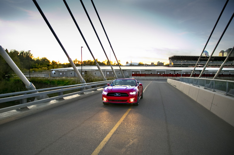 Eco-Stang on the Prairies: Ridin' & drivin' Ford's 50th anniversary ecoboosted ragtop - slide 7