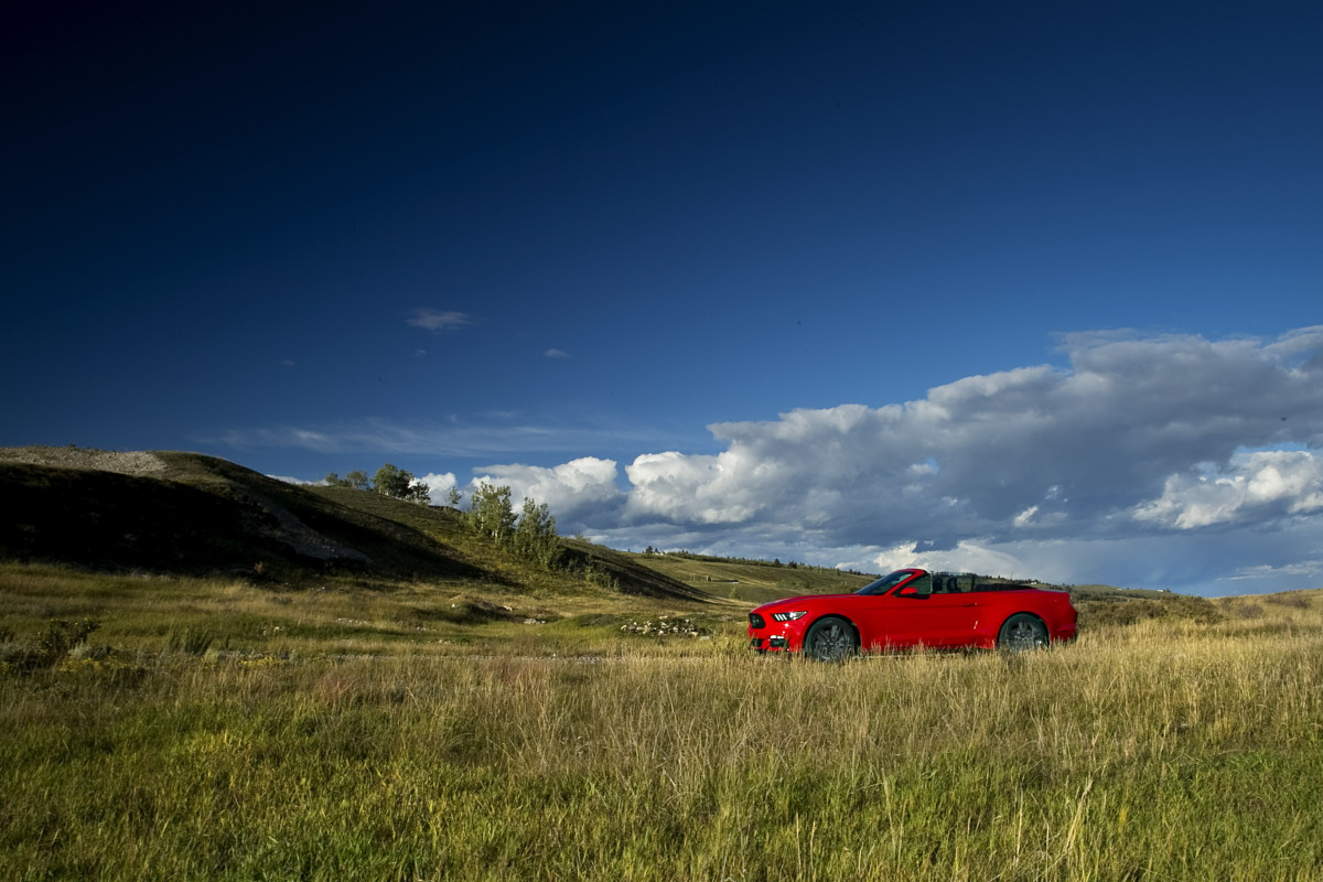 Eco-Stang on the Prairies: Ridin' & drivin' Ford's 50th anniversary ecoboosted ragtop - slide 13