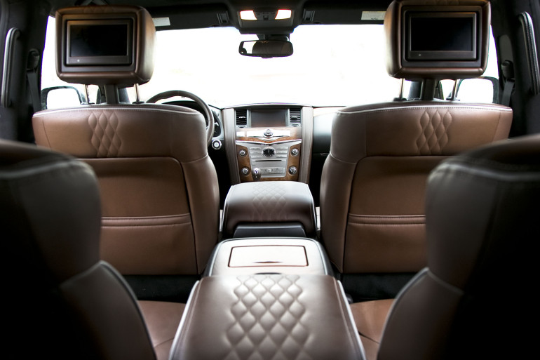 The polarizing flagship of luxury that is Infiniti's expansive QX80 Limited - slide 8