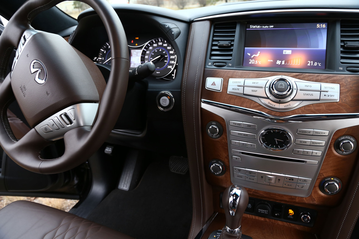 The polarizing flagship of luxury that is Infiniti's expansive QX80 Limited - slide 36