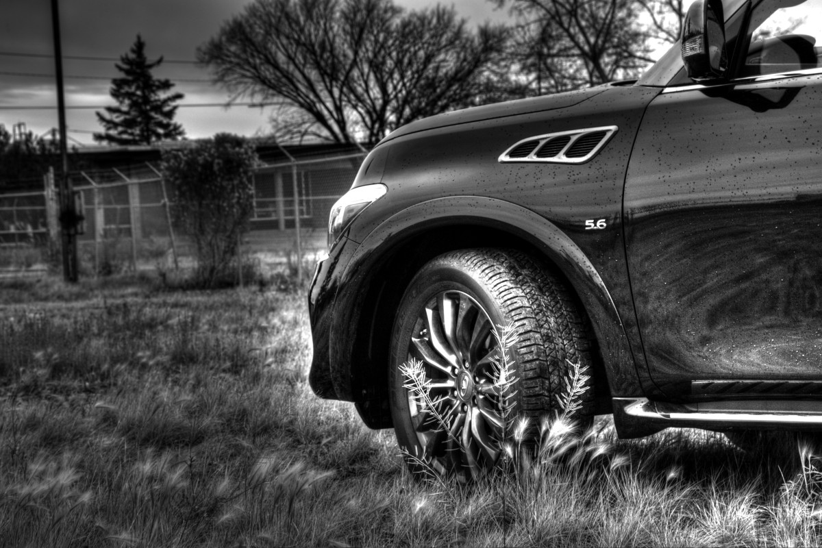 The polarizing flagship of luxury that is Infiniti's expansive QX80 Limited - slide 21