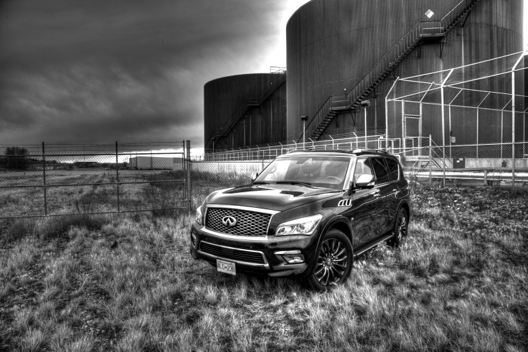 The polarizing flagship of luxury that is Infiniti's expansive QX80 Limited - slide 14