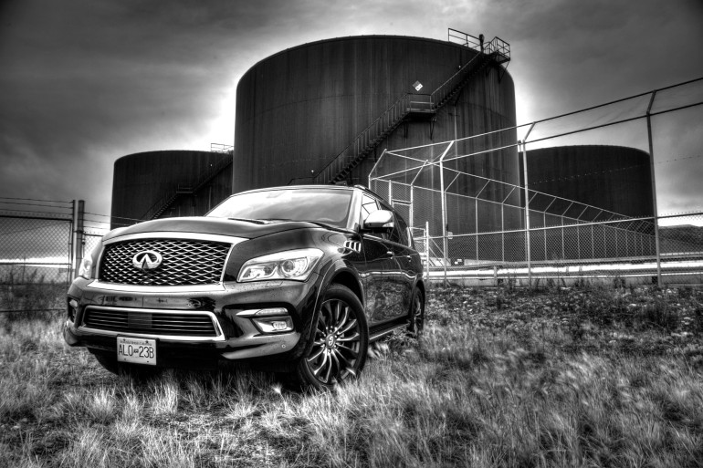 The polarizing flagship of luxury that is Infiniti's expansive QX80 Limited - slide 4