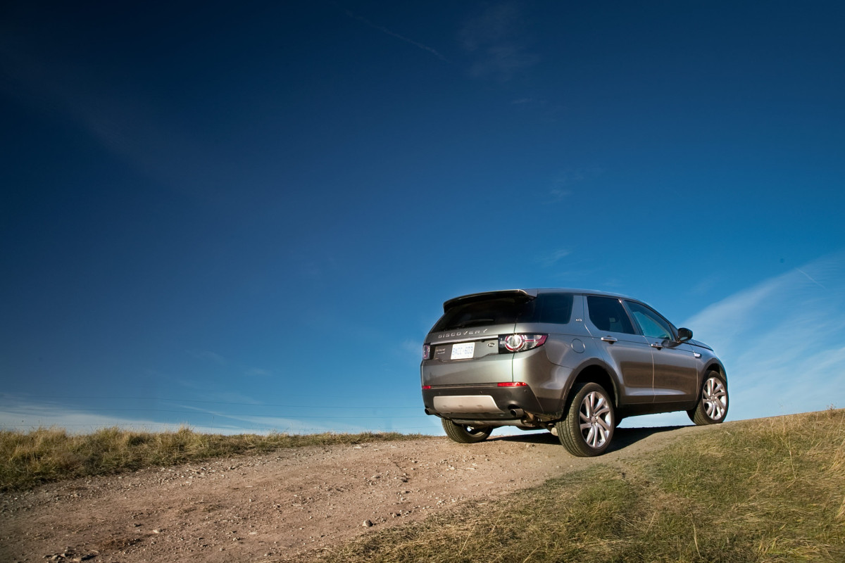 Disco Very! Land Rover's revised Discovery Sport cleans up on the off-road dance floor - slide 2