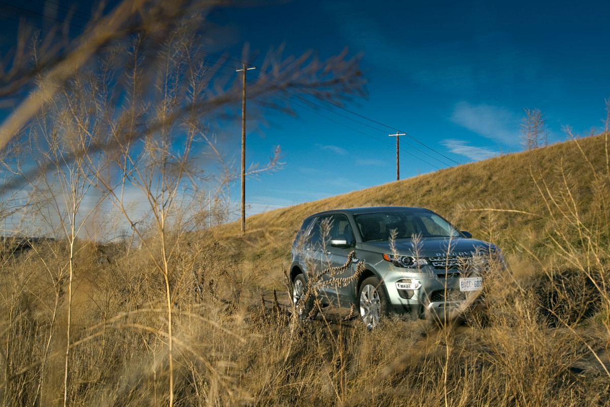 Disco Very! Land Rover's revised Discovery Sport cleans up on the off-road dance floor - slide 5