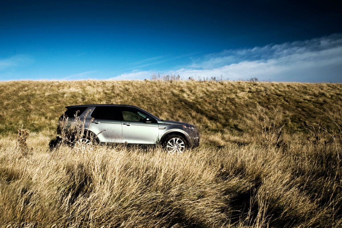 Disco Very! Land Rover's revised Discovery Sport cleans up on the off-road dance floor - slide 1