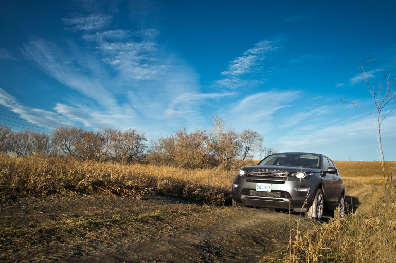 Disco Very! Land Rover's revised Discovery Sport cleans up on the off-road dance floor - slide 3