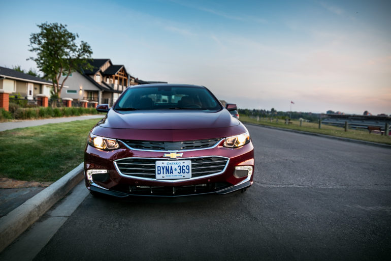 Rhymes w Caribou: 2016 Malibu 2.0T adopts a Euro styling & a new anthem - slide 6