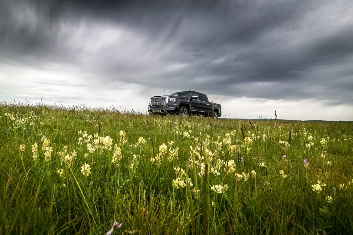 Mucking about on Cypress' Hills & Saskatchewan's Great Sandhills in GMC's 2016 Sierra Denali