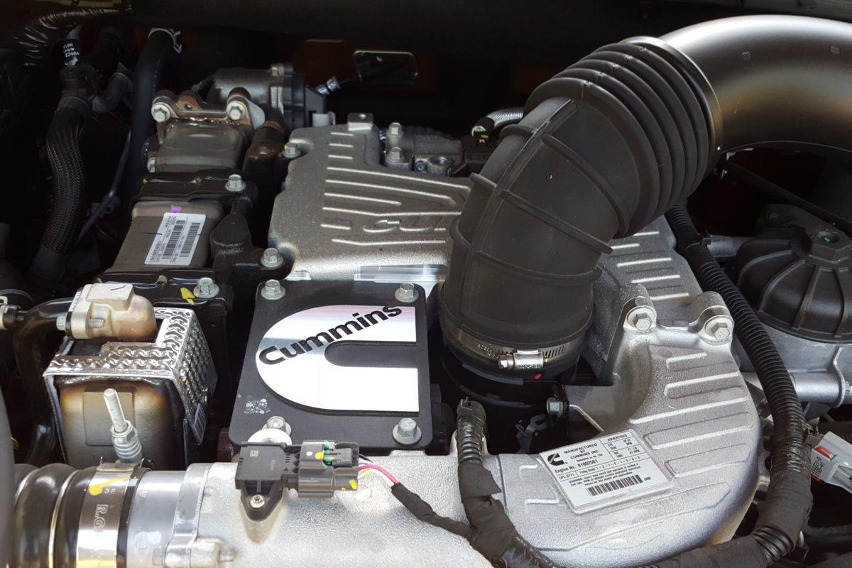 The stuff of huuuge; Nissan's 2016 Cummin turbo-dieseled TITAN XD upps the big! - slide 6