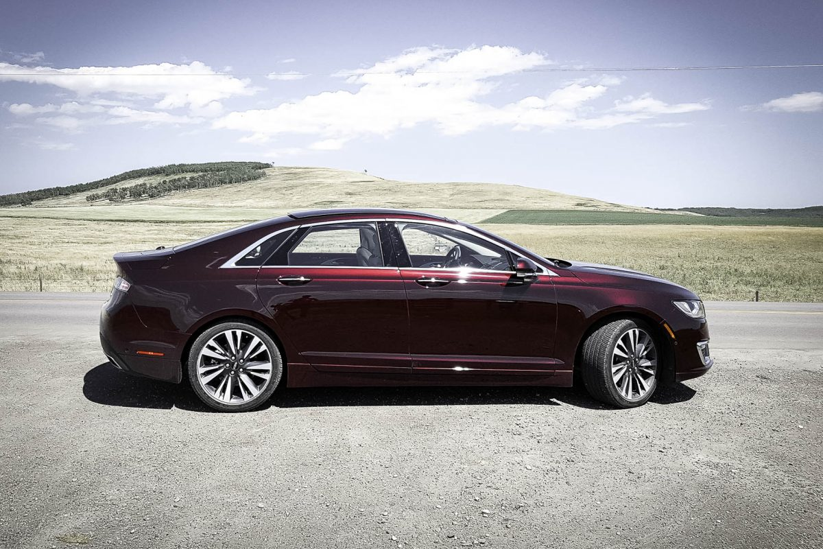 2017 Lincoln MKZ; the sedan with sport in all the right places