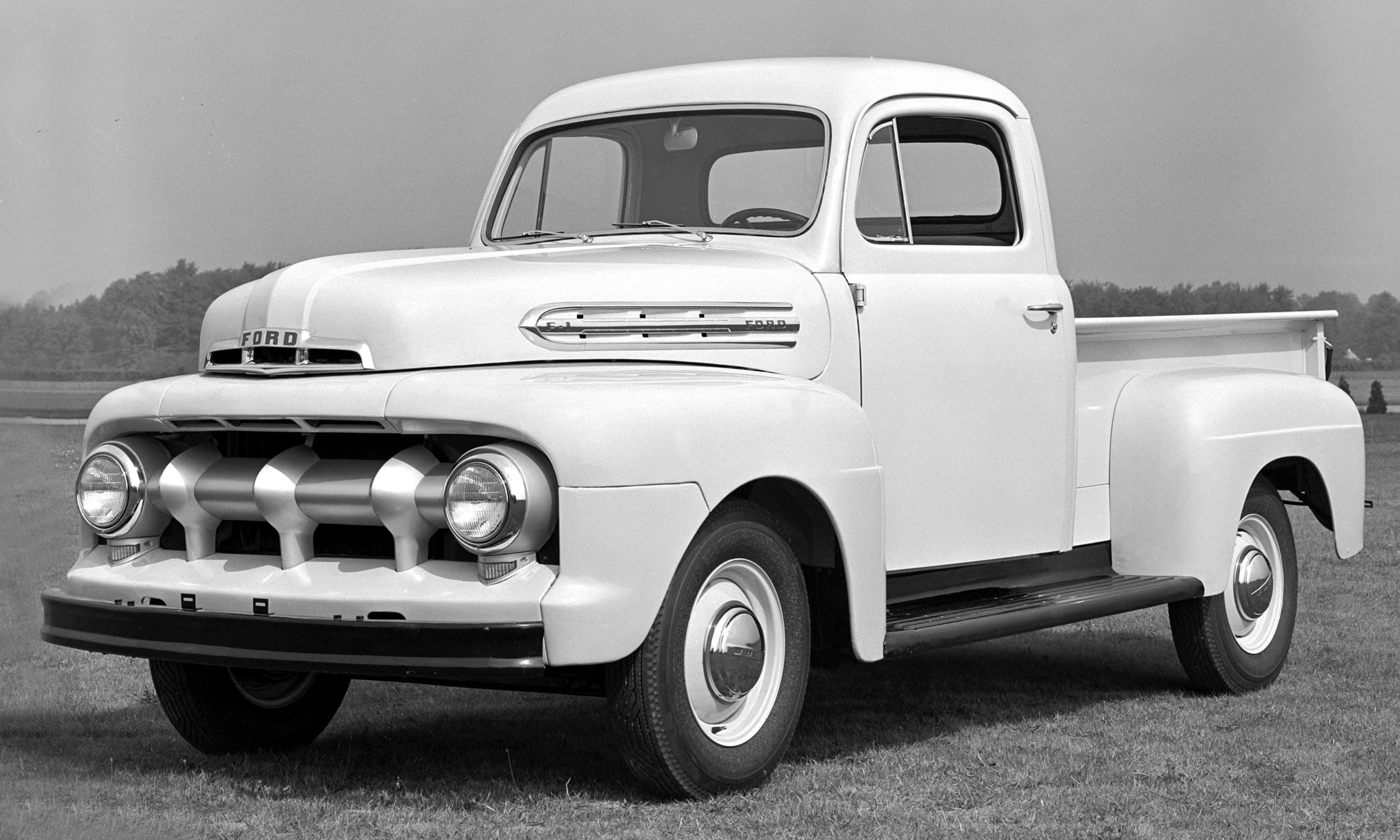 70 Years On Fords Iconic F 150 Continues To Move The People 1948 Ford Panel Truck Series Generation 1 52