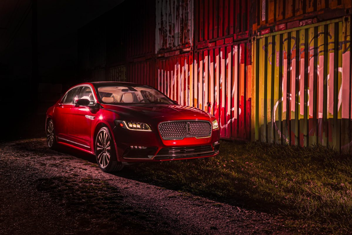 Lincoln's 2019 Continental Reserve delivers luxury performance in an AWD ruby-red candy coating!